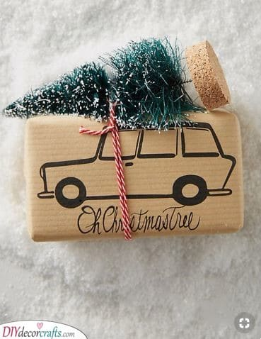 Taking the Tree Home - Draw a Car