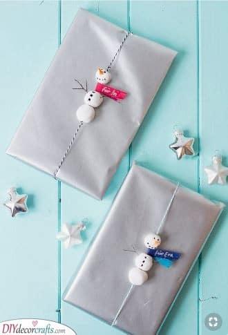 Adorable Snowmen - A Winter Wonderland