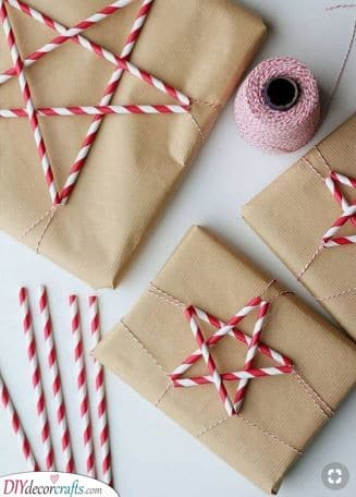 Candy Cane Vibes - Using Paper Straws