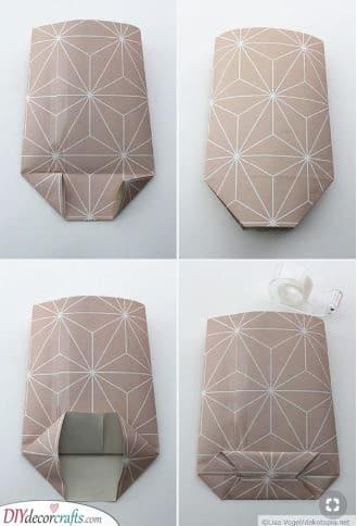 Create a Bag - Lovely Christmas Gift Wrap Ideas