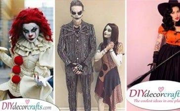 25 SPOOKY HALLOWEEN COSTUME IDEAS - The Best Halloween Costumes