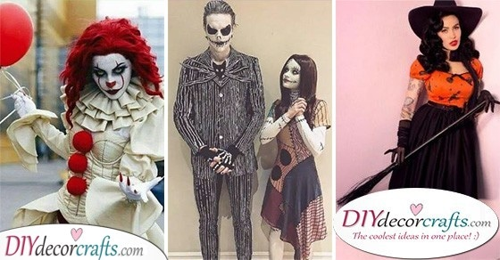 25 SPOOKY HALLOWEEN COSTUME IDEAS - The Best Halloween Costumes