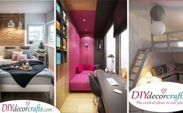 25 SMALL BEDROOM DECORATING IDEAS ON A BUDGET - Bedroom Ideas for Small Rooms