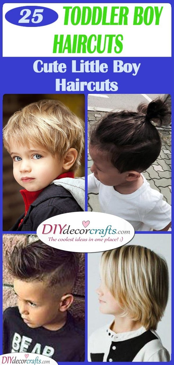 25 TODDLER BOY HAIRCUTS - Cute Little Boy Haircuts