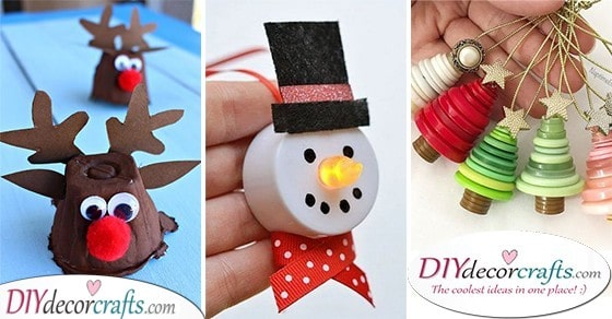 25 CHRISTMAS CRAFT IDEAS FOR KIDS - Easy Christmas Crafts for Kids