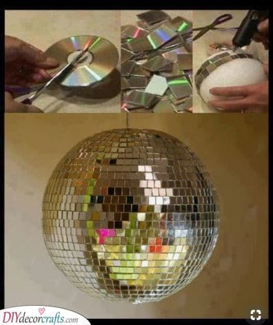 Create Your Own Disco Ball - Unique and Funky