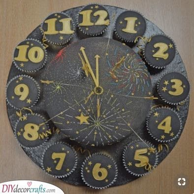 A Cupcake Countdown - New Year's Eve Ideas