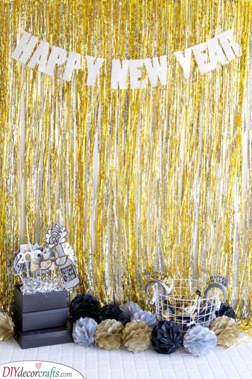 For the Perfect Photo - New Year's Eve Decorations