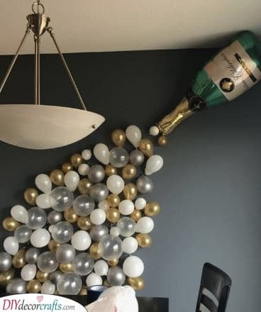 New Year Decoration Ideas - New Years Eve Party Decoration Ideas