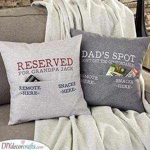 Funny Pillowcases - Christmas Ideas for Husband