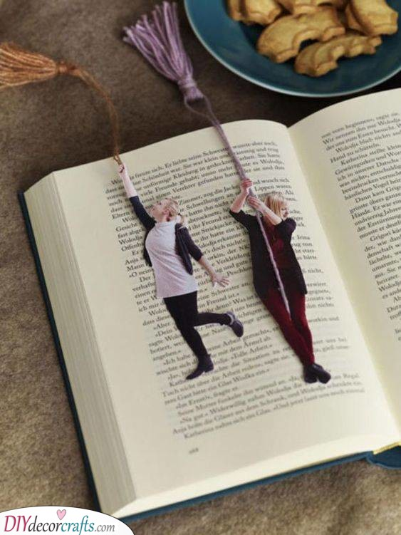 Bookmarks for a Bookworm - Christmas Ideas for Husband