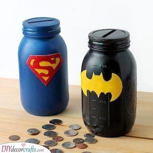 Unique Piggy Banks - Encourage Him to Save Money