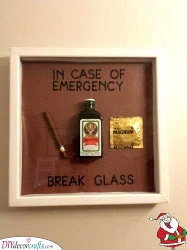 In Case of Emergency - Christmas Gift Ideas for Him