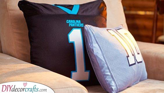 His Favourite Sports Teams - A Few Pillows