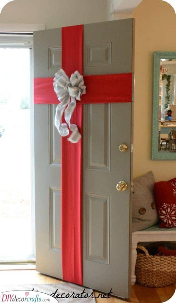 Wrap Up Your Front Door – A Big Gift