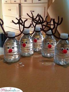 Reindeer Water Bottles – Cute and Cheerful