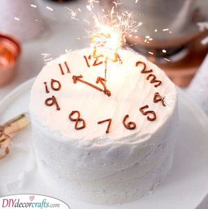 The Countdown Cake - It's Nearly Midnight