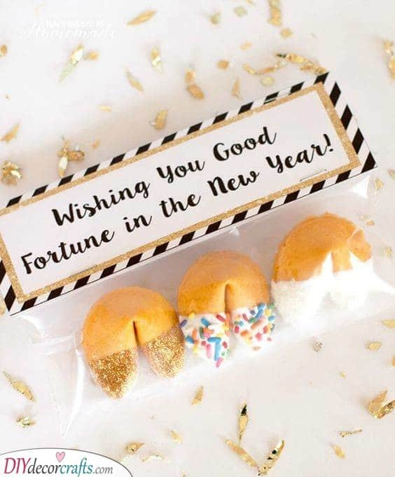Fortune Cookies - New Years Eve Party Food