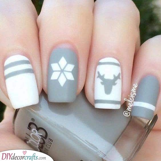 Simple and Stunning - Winter Nail Ideas