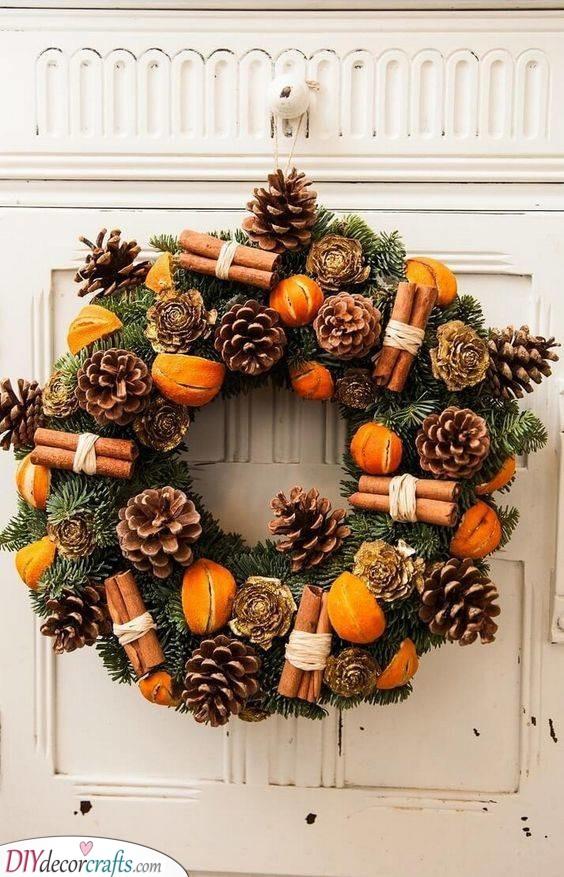 Orange and Cinnamon - A Wintery Ambience