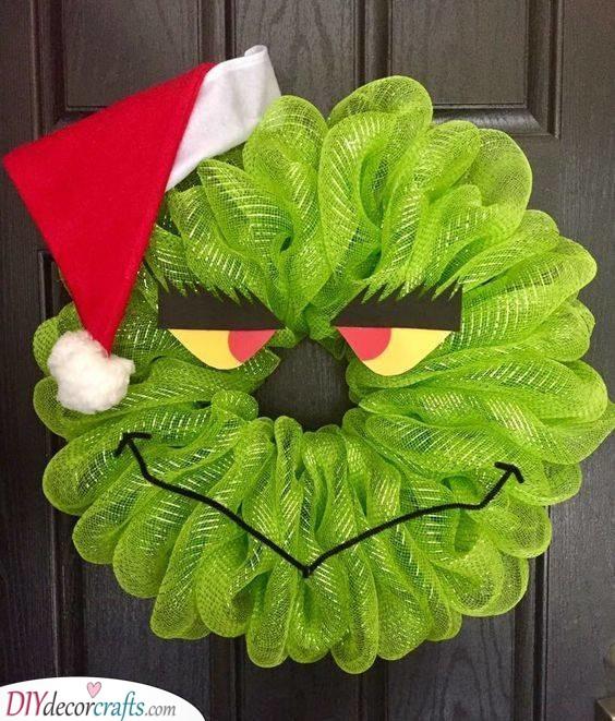 The Grinch - Christmas Door Decorations