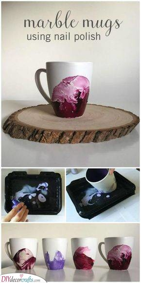 Marble Mugs – Amazing Christmas Gifts for Girls