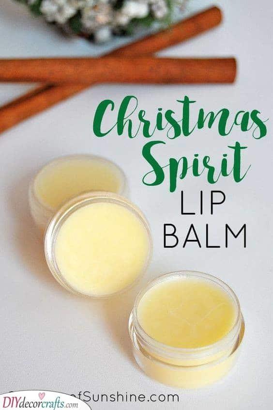DIY Lip Balm - With Essential Oil