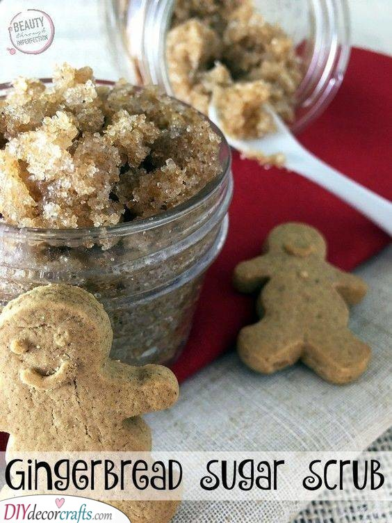 Gingerbread Sugar Scrub - Great for Your Skin