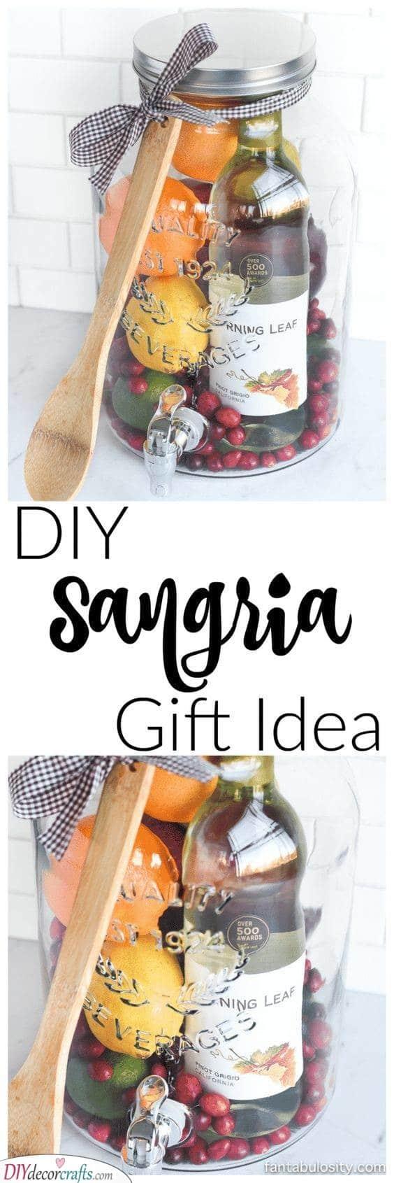 A Jar of Goodness - DIY Sangria