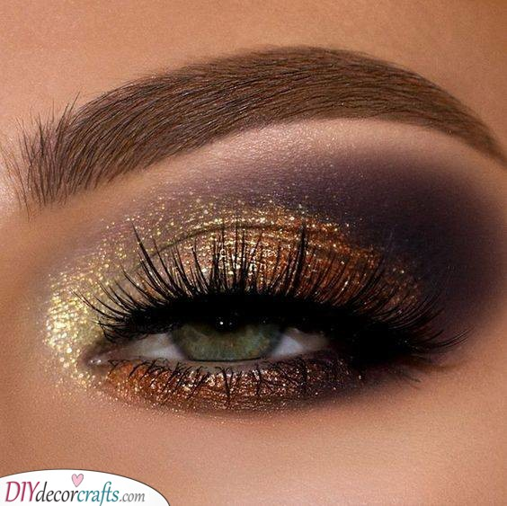 Gorgeous in Gold - Christmas Makeup Ideas