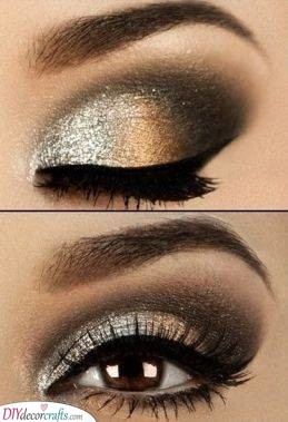 A Dazzling Combination - Great Christmas Party Makeup