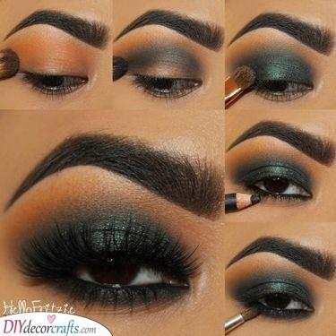 Beautiful in Black - Christmas Eye Makeup