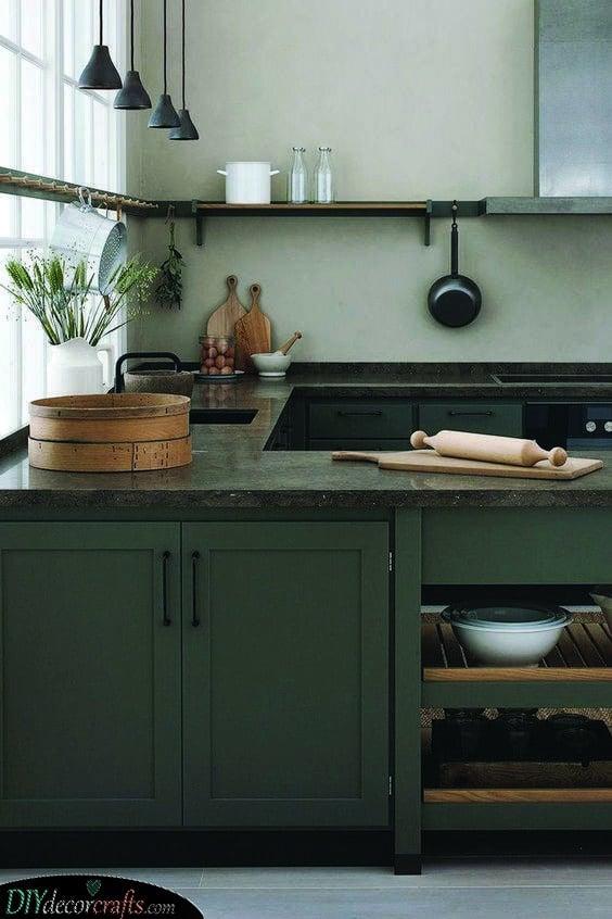 A Modern Rustic Look - Kitchen Cabinet Design Ideas