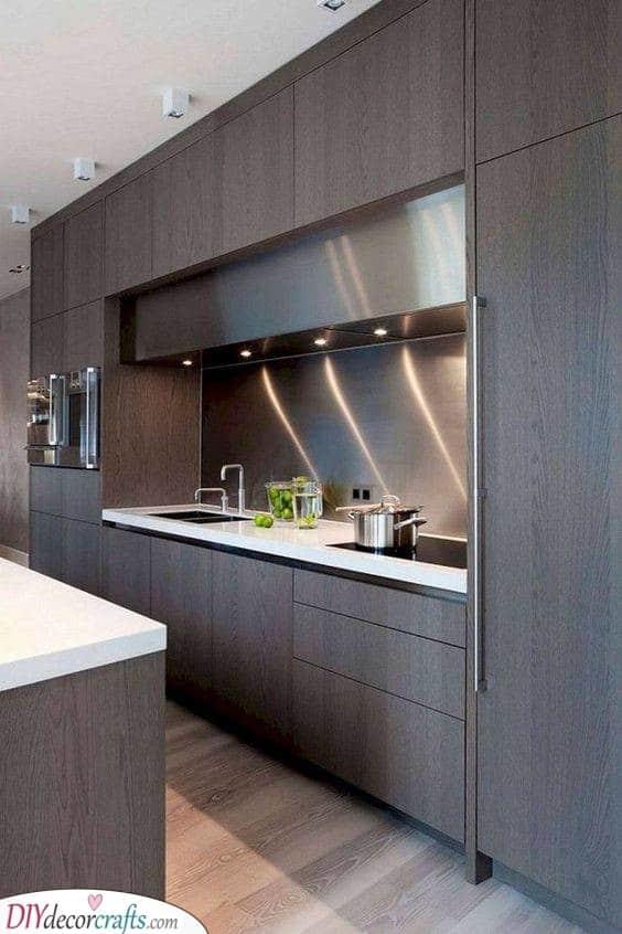 Modern and Contemporary - Kitchen Cabinet Storage Ideas