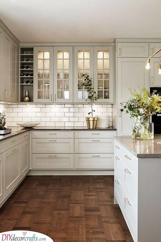A Rustic Kitchen - Kitchen Cabinet Designs