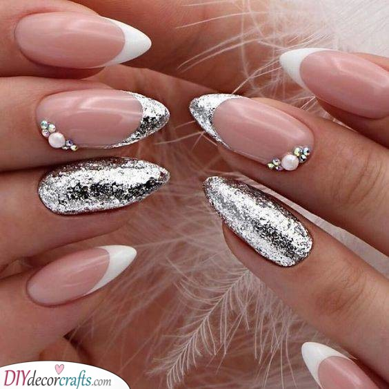 Stunning in Silver - New Years Nail Ideas