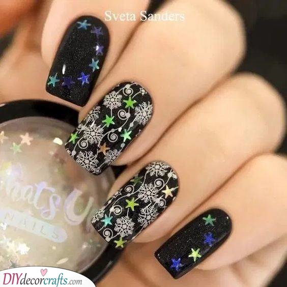 Snowflakes, Stars and Streamers - A Beautiful Look