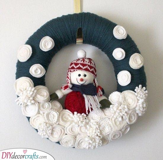 Another Snowman Idea - Perfect for the Season