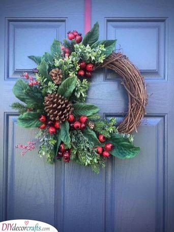 Nature's Bliss - Winter Wreaths for Front Door
