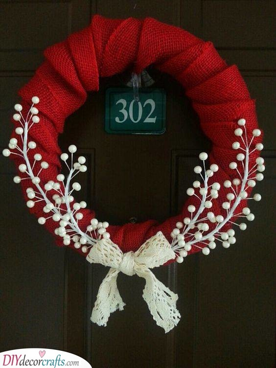 Red and White - Simple and Delicate