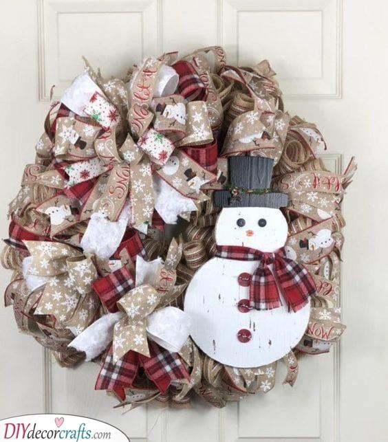 A Merry and Joyous Design - Winter Wreath Ideas