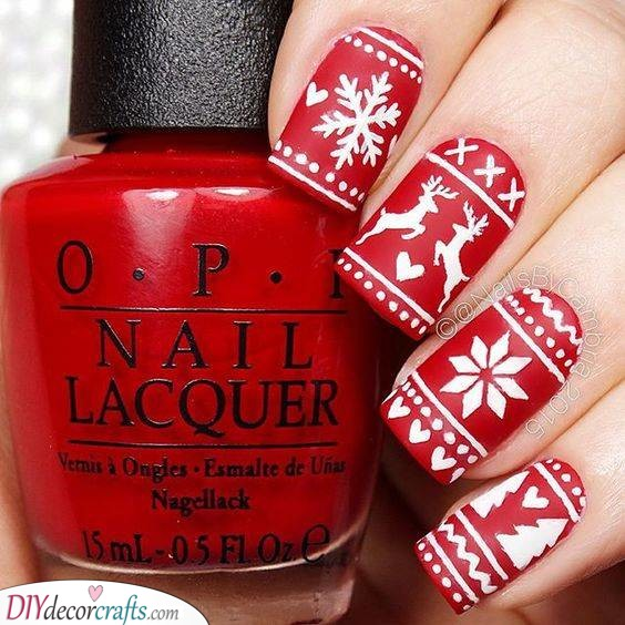 Snowflakes, Reindeers and Firs - A Truly Christmas Design