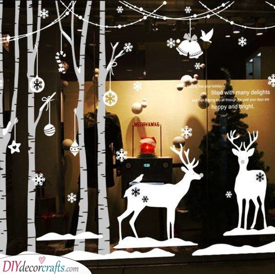 Spectacular Stickers - Christmas Window Decoration Ideas