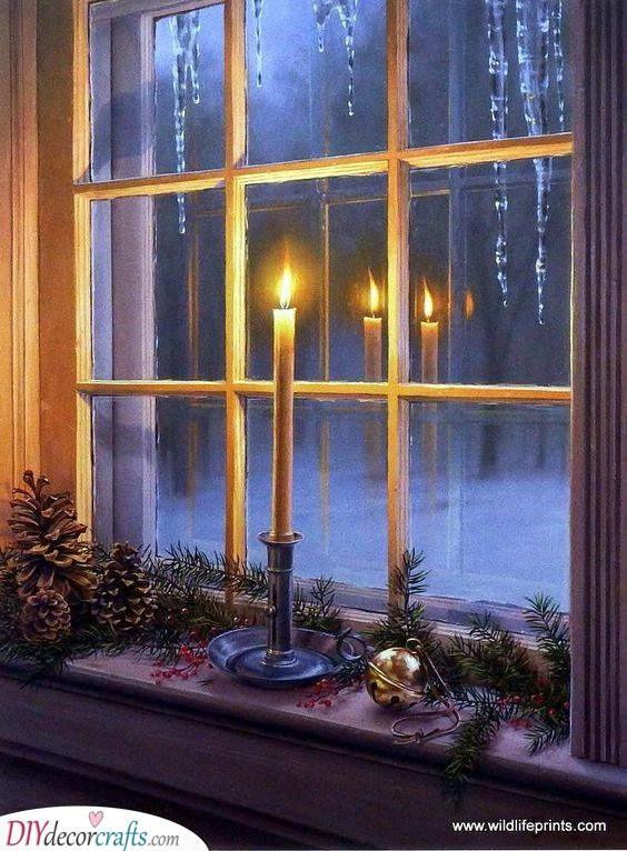 The Holy Night - Lighted Christmas Window Decorations