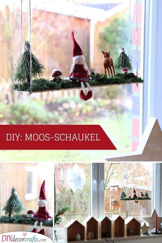 A Wintery Woodland - Outdoor Christmas Window Decorations