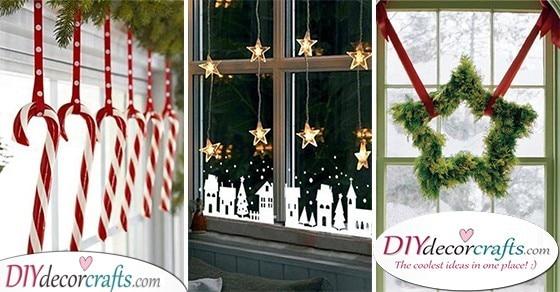 20 CHRISTMAS WINDOW DECORATIONS - Christmas Window Decoration Ideas