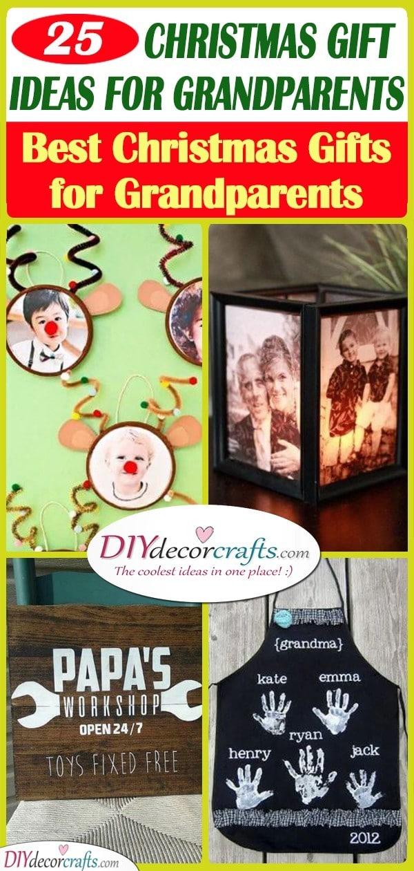 25 CHRISTMAS GIFT IDEAS FOR GRANDPARENTS - Best Christmas Gifts for Grandparents