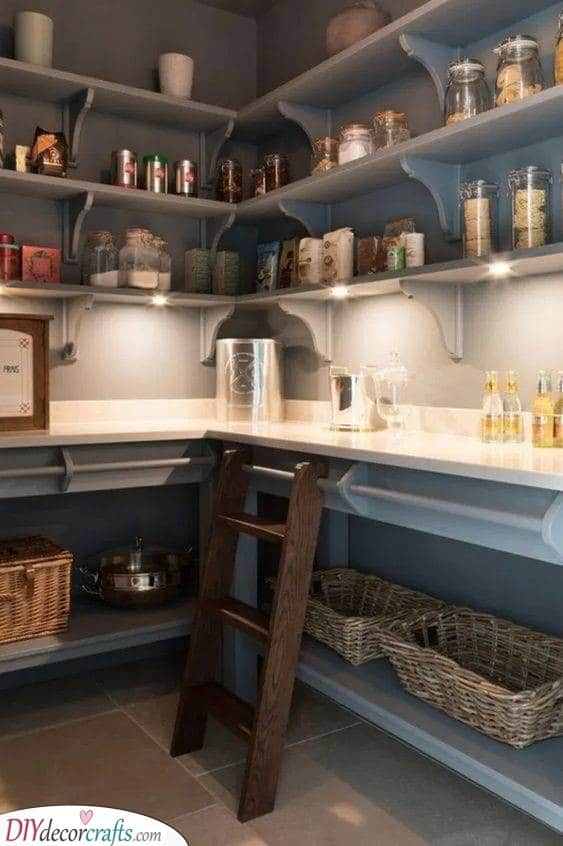 Create A Stylish Place - Out of Your Pantry