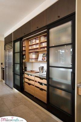 Awesome Pantry Doors - Modern and Elegant