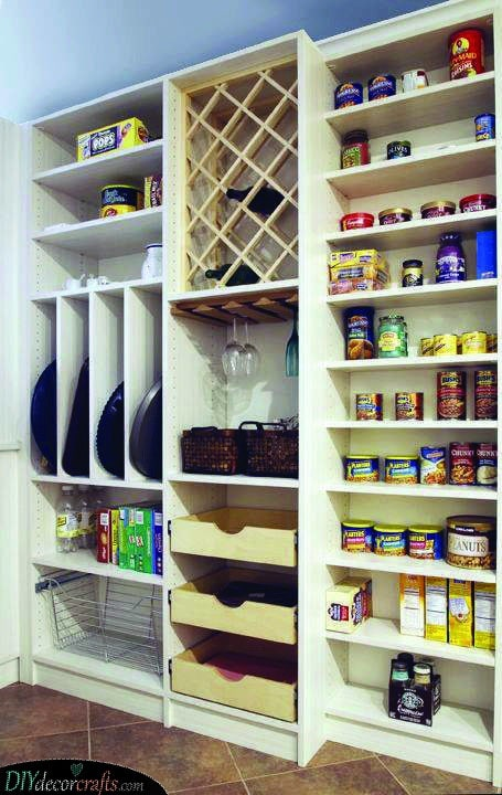 A Place for Everything - Pantry Organization Ideas